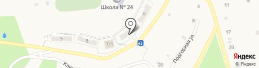 Синица на карте Белогорья