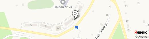 Благовещенский расчетно-кассовый центр на карте Белогорья