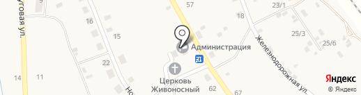Территориальный отдел пос. Белогорье на карте Белогорья