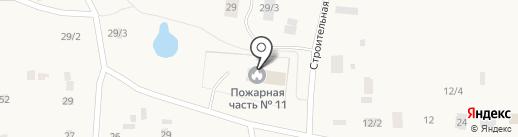 Пожарная часть №13 по охране с. Табага на карте Табаги