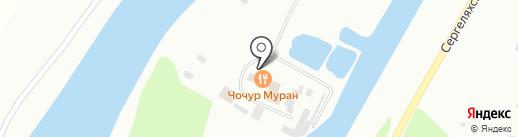 Визит Якутии на карте Якутска