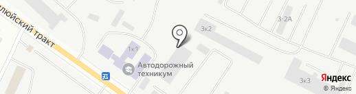 Центр складского хранения на карте Якутска
