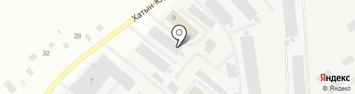 Горснаб, МУП на карте Якутска