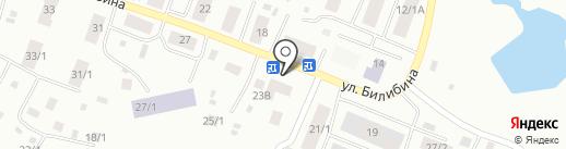 Туйгун на карте Якутска