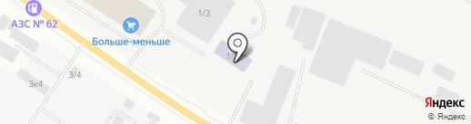 СахаМазСтрой на карте Якутска