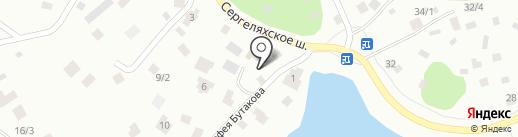 Золотой бочонок на карте Якутска