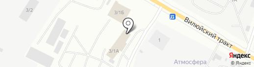Аптечный пункт на карте Якутска