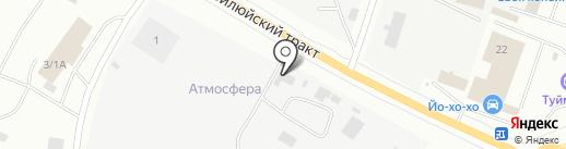 Транспортная компания по перевозке и перекачке горюче-смазочных материалов на карте Якутска