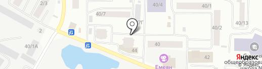 Ромашка на карте Якутска