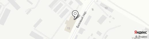 Сарма на карте Якутска