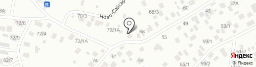 Лонгинова на карте Якутска