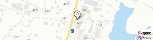 Автолавка на карте Якутска