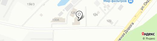 Пункт техосмотра на карте Якутска