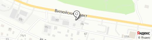 ВМК-СЕРВИС на карте Якутска