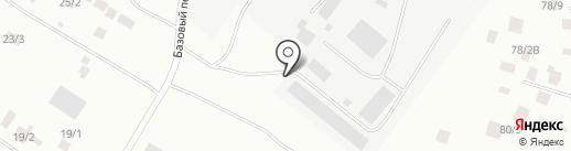 Дэлэгэй на карте Якутска