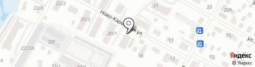 Стерх на карте Якутска