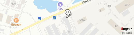 Подшипник+ на карте Якутска