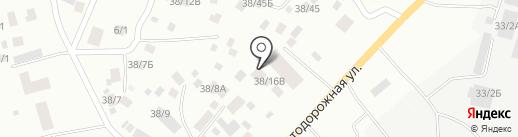 Айар Уус на карте Якутска