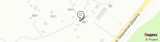 Оркон на карте Якутска