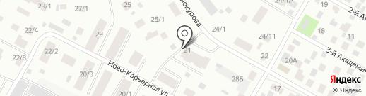 Сытый дом на карте Якутска