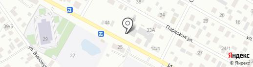 Соловушка на карте Якутска