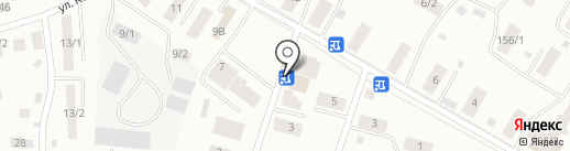 Фишка на карте Якутска