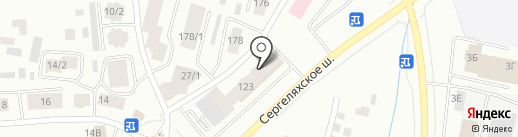 Стройкон на карте Якутска