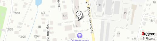 Буран-Центр на карте Якутска