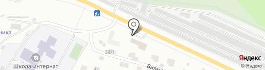 Альфа Ойл на карте Якутска