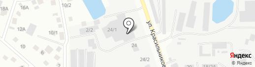 Магазин по продаже автомасел на карте Якутска