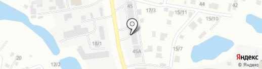 Йоза на карте Якутска
