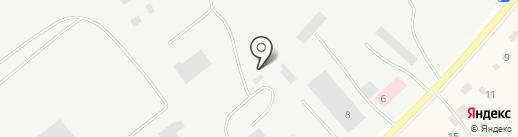 Монолит на карте Якутска