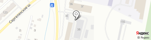 НОВАКОМ на карте Якутска