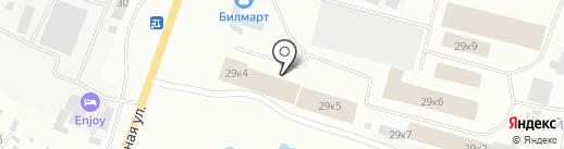 Магазин мебельной фурнитуры на карте Якутска