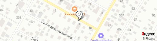 На Ильменской на карте Якутска