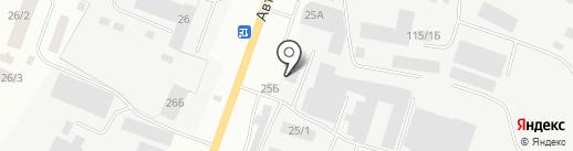 Алешка на карте Якутска