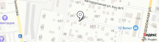 Национальное коллекторское бюро на карте Якутска