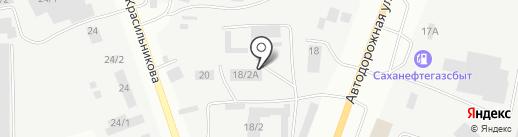 Сафари-Транс на карте Якутска