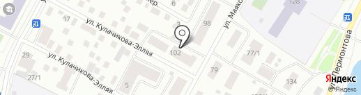 Платежный терминал на карте Якутска