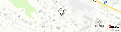 Пункт технического осмотра на карте Якутска