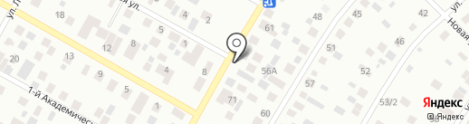 Гостевой дом на карте Якутска