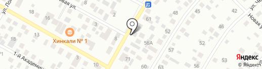 Саха на карте Якутска