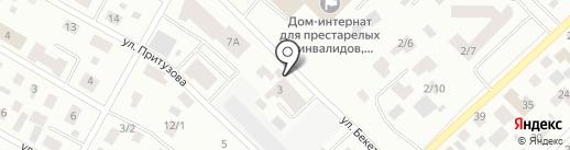 ЕНЕ строй на карте Якутска