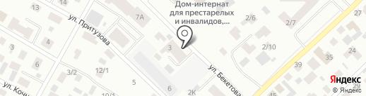 Гарант на карте Якутска