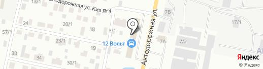 12 Вольт на карте Якутска