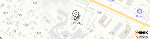 Отдел ДПС на карте Якутска