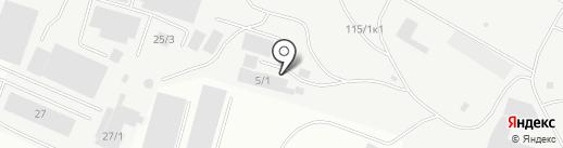 Магазин контрактных автозапчастей на карте Якутска