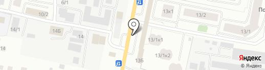Магазин автозапчастей на карте Якутска