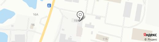 Монолит Строй на карте Якутска