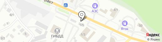 Urban Bar на карте Якутска